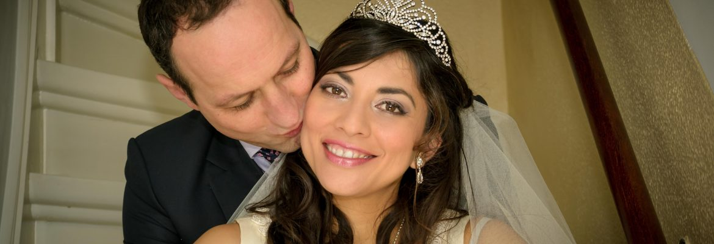 Adriana and Jeroen – Indoor Wedding Photography